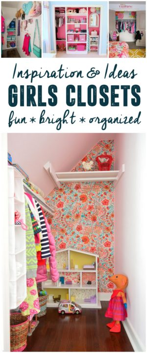 Fun Bright Girls Closets