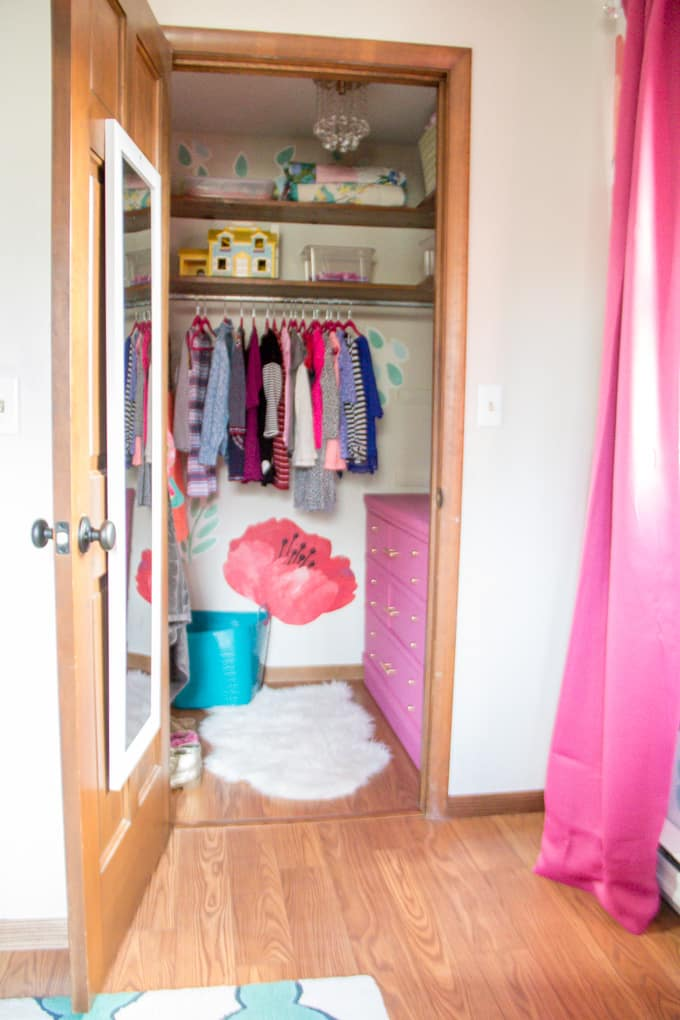 Bright Fun Girl Closet