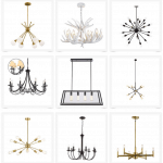 Affordable Modern Statement Chandeliers