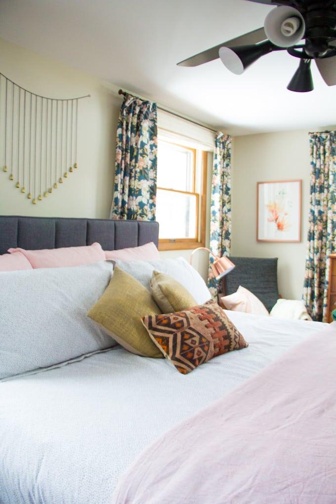 Floral Modern Bedroom