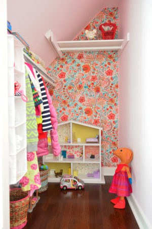 Fun Bright and Organized Girl Closets