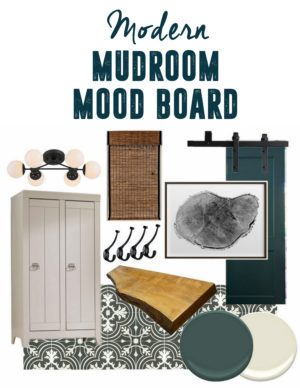 Mudroom Mood Board