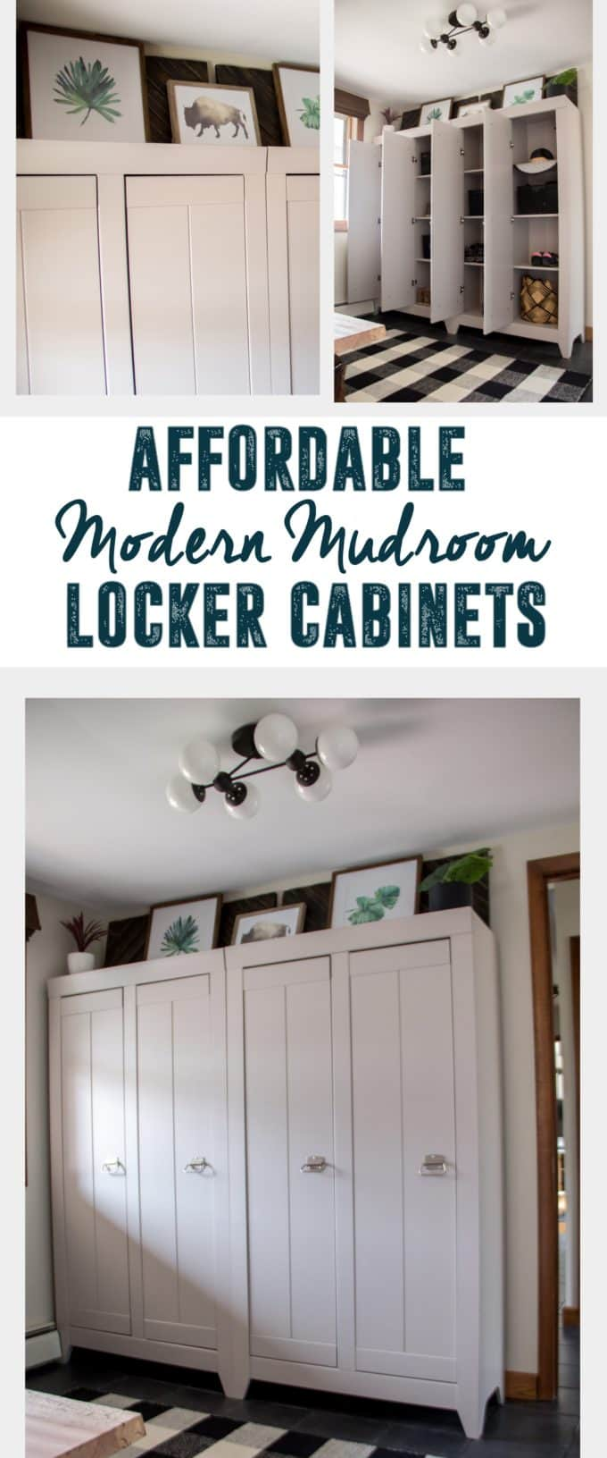 Affordable Mudroom Cabinets