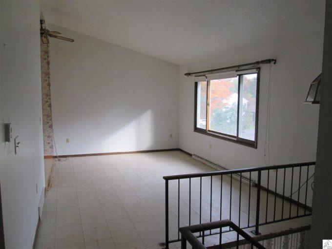 Split Level House Living Room Before