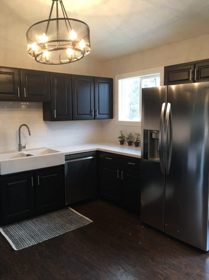 U-Shaped Kitchen After Modern