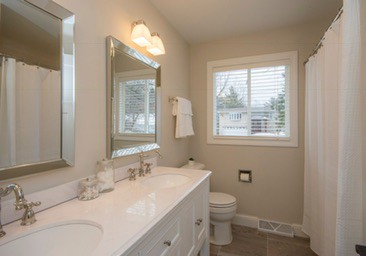 Flip House Bathroom After Picture White and Modern