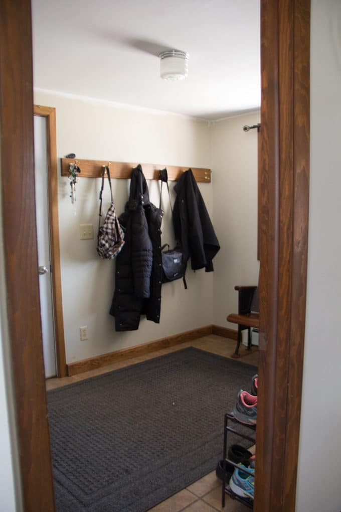 Mudroom Before