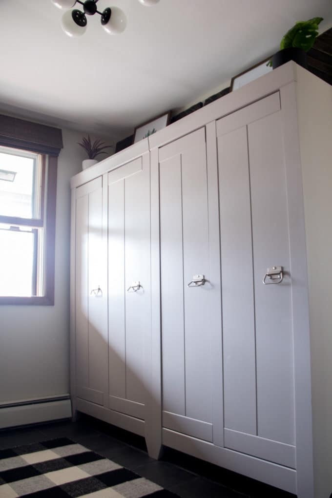 Mudroom Locker Cabinet
