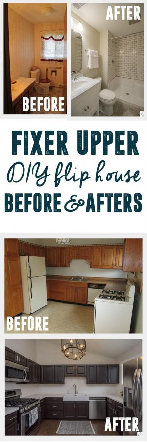 diy flip house fixer upper before and after