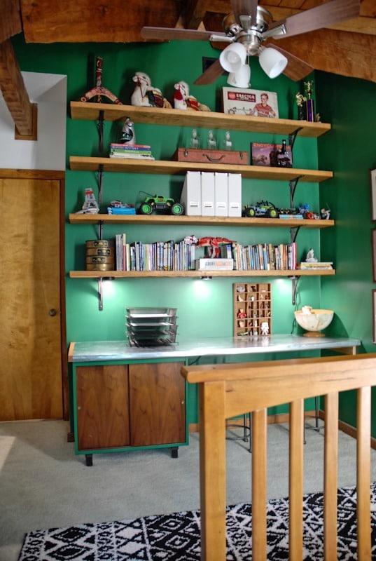 Hood Creek Log Cabin Boys Bedroom
