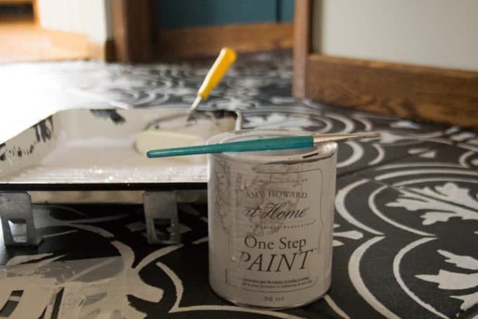 How to Paint Stenciled Floors