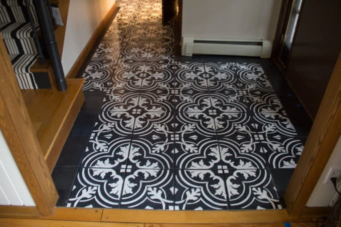 How to Stencil Flooring