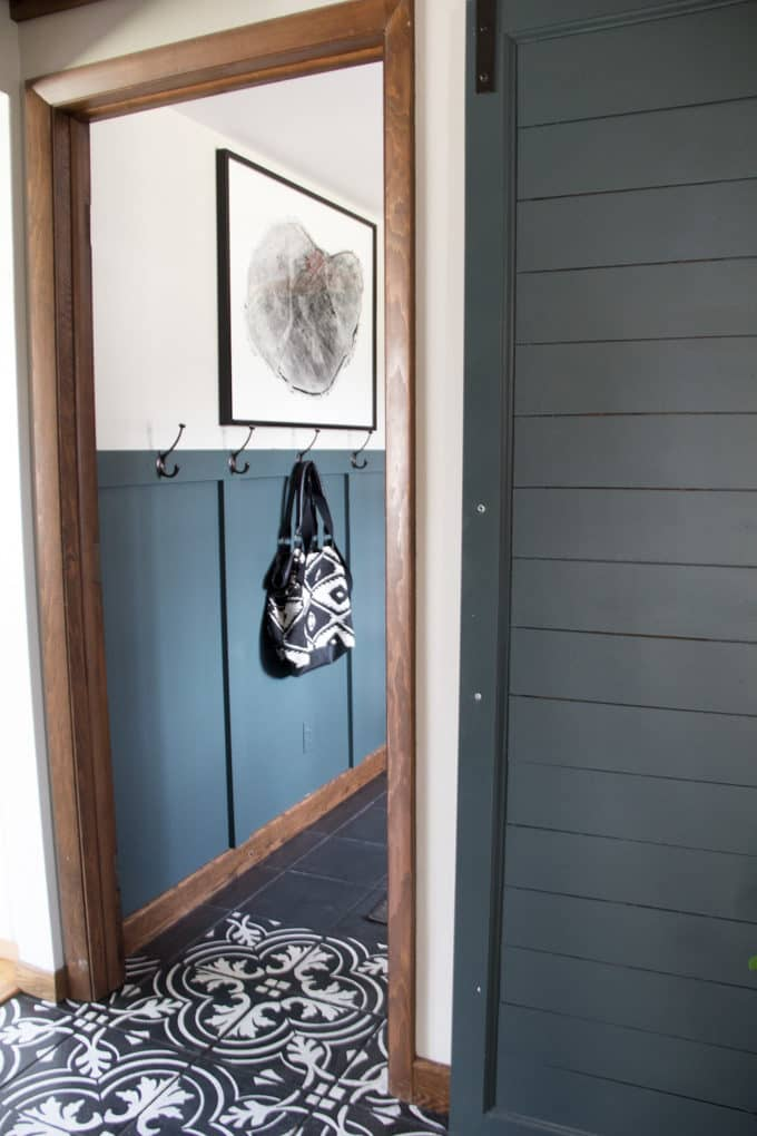 Benjamin Moore Hidden Falls Barn Door