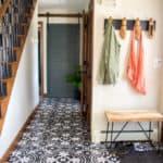 Cement Tile Stenciled Floor