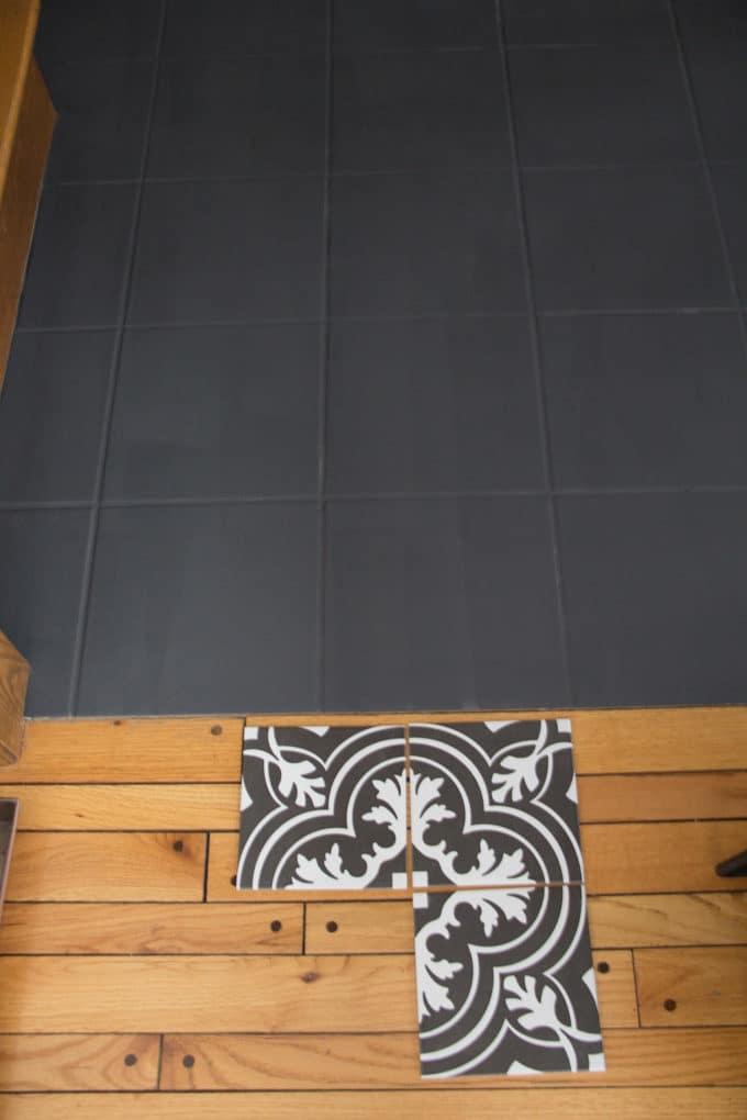 Faux Cement Tile