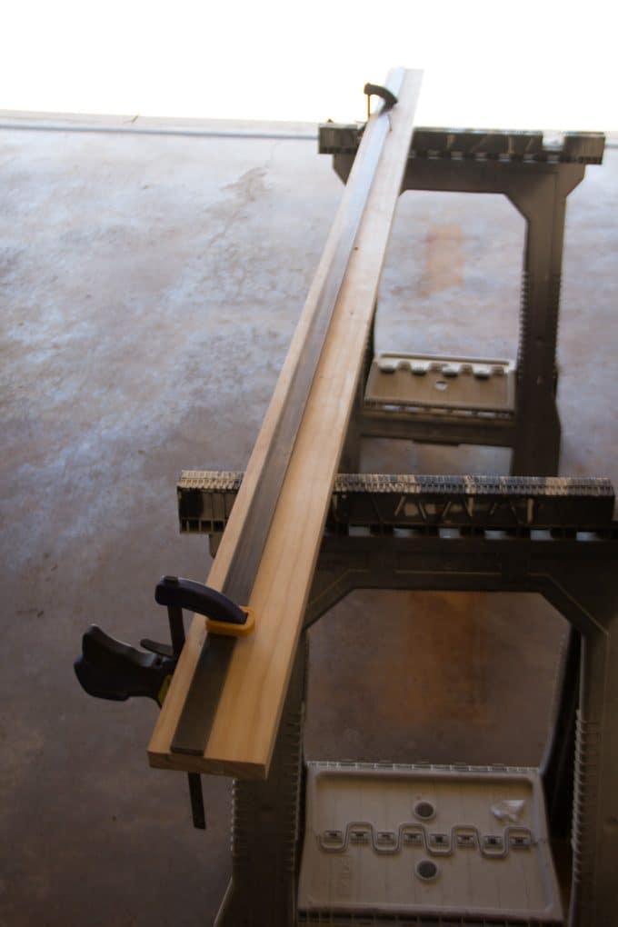 DIY Barn Door Track