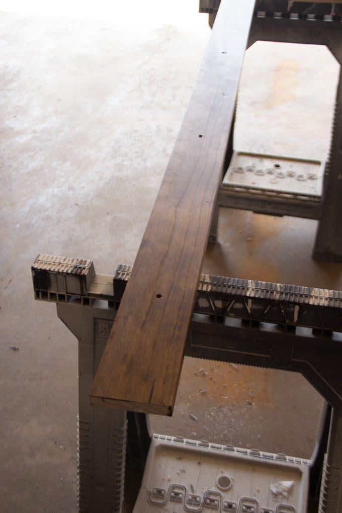 Wood Barn Door Track and Rail