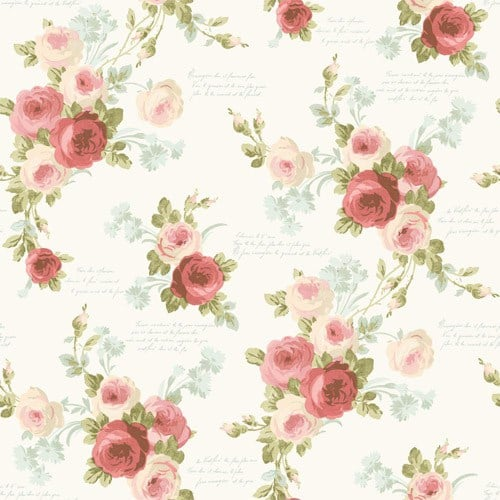 Heirloom Rose Wallpaper