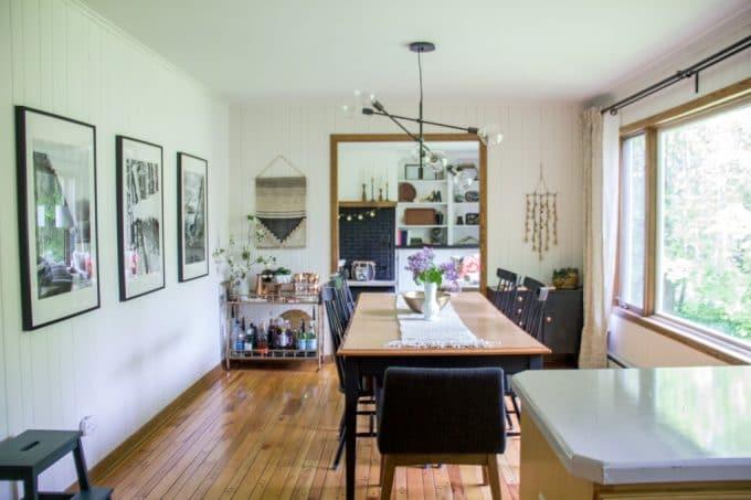 Modern ScandinavianDining Room