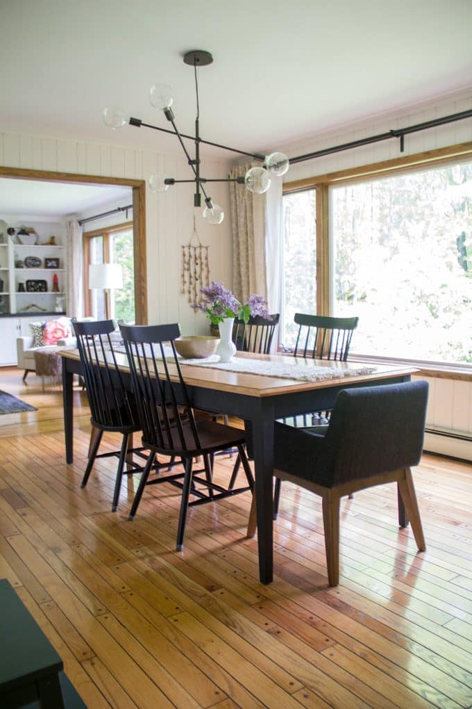 Dining Room with Windsor Chairs