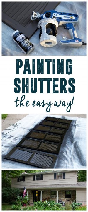 Tips for Painting Shutters