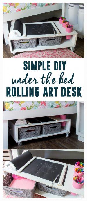 Rolling Art Desk