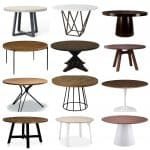 Modern Round Tables