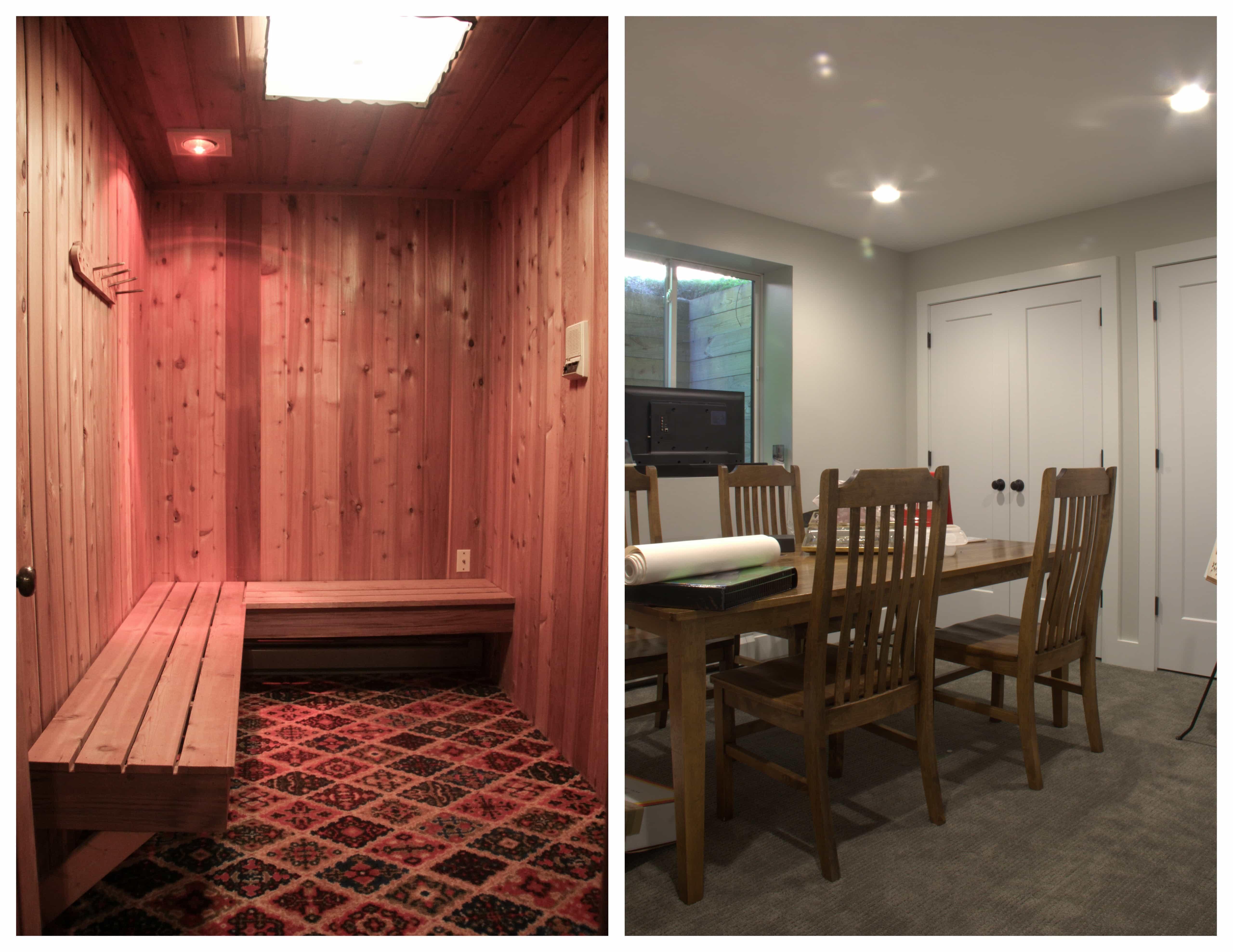 Sauna Transformation