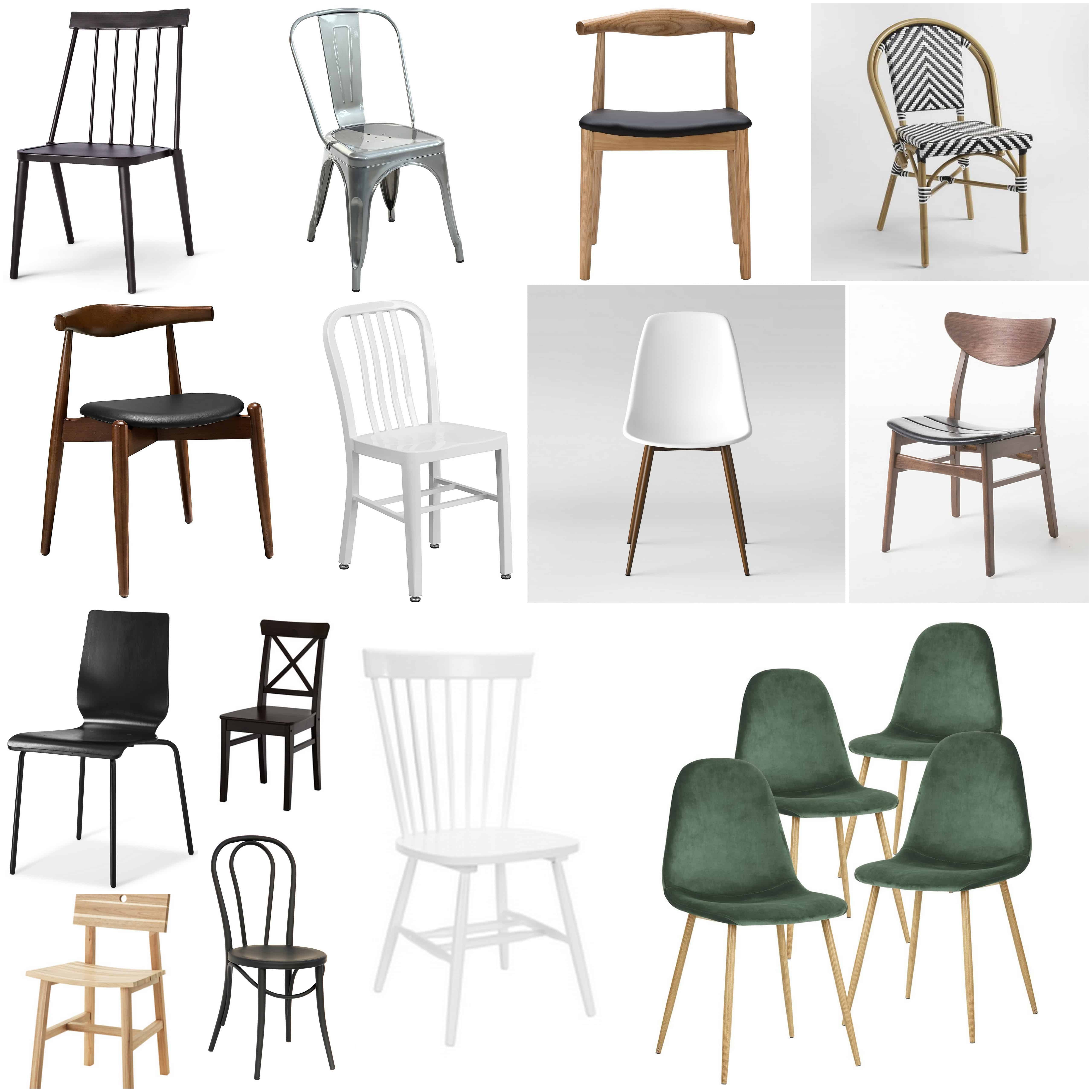 Inexpensive Modern Chairs: Affordable Modern Dining Chairs