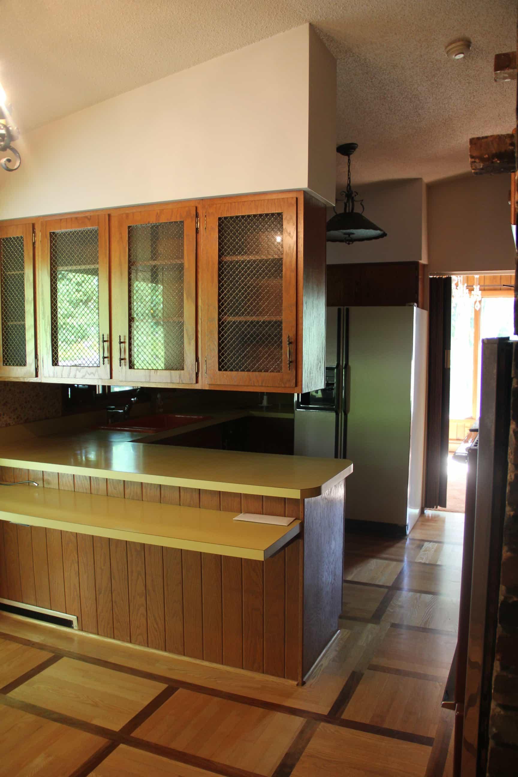Seventies Kitchen Before