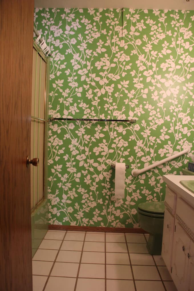 Dated Bathroom Renovation