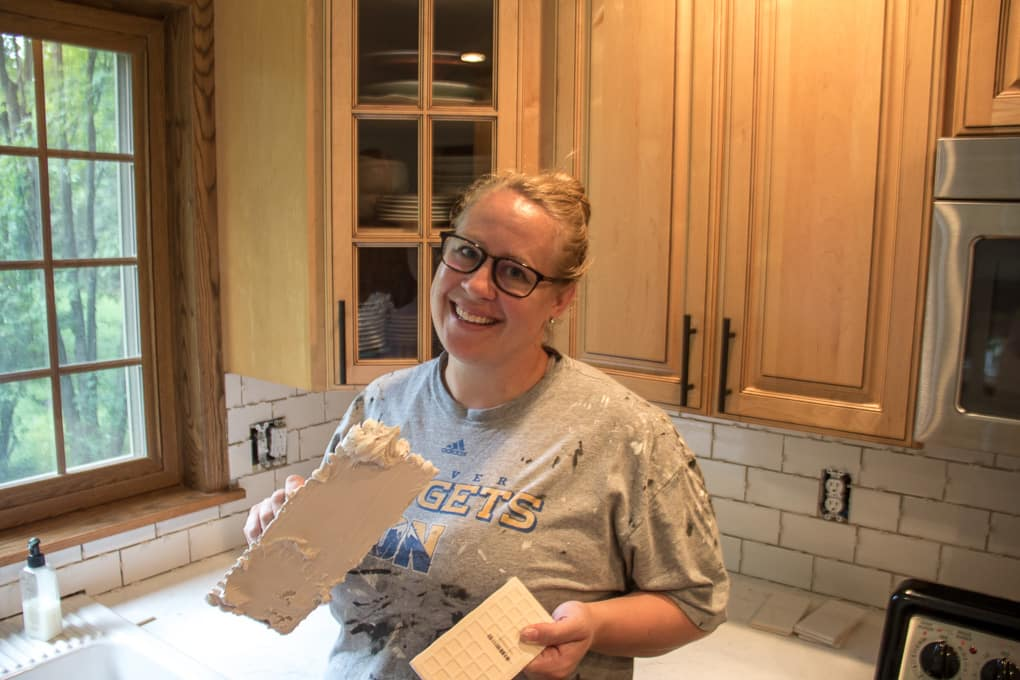 Jess McGurn How to Tile a Backsplash