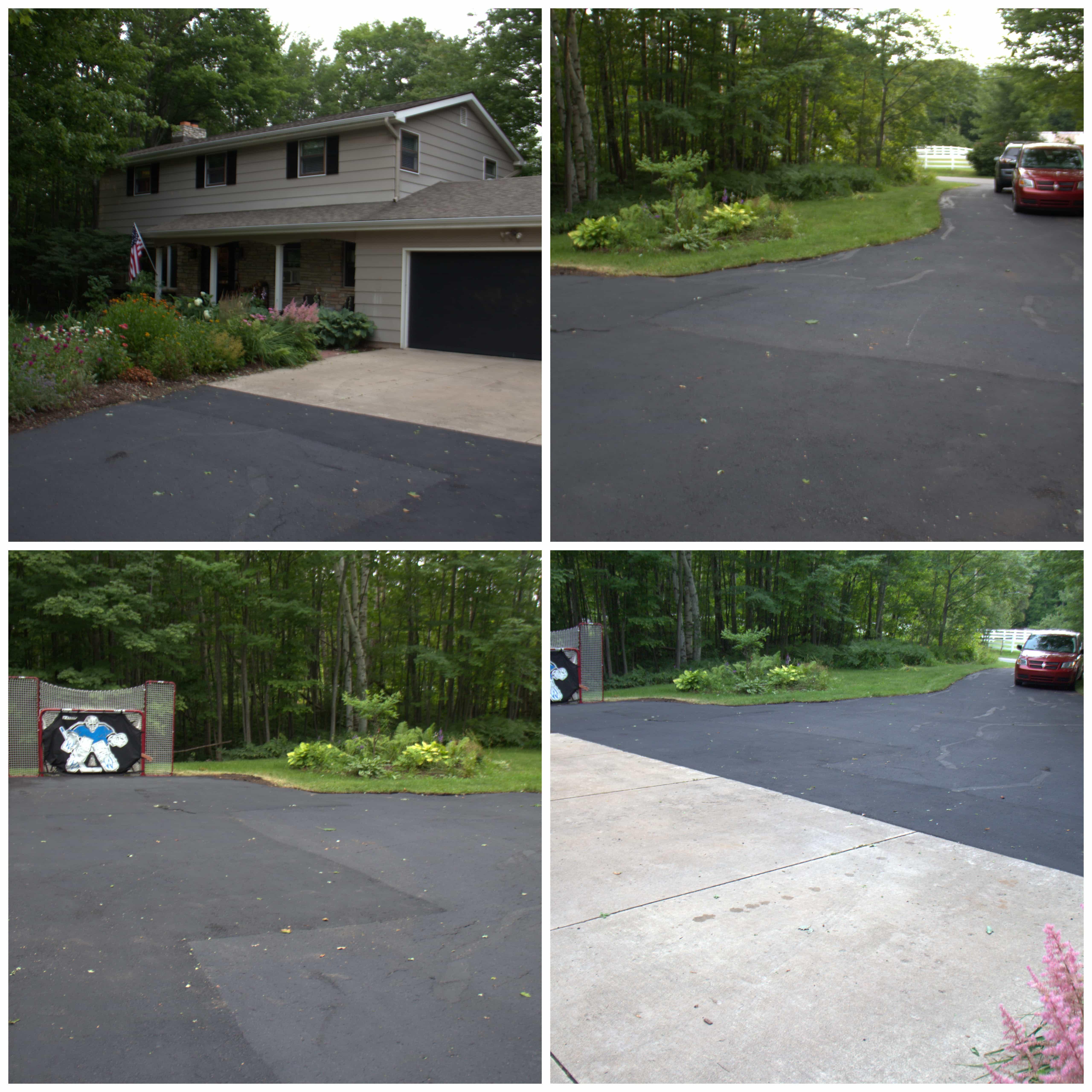 Newly Resurfaced Driveway