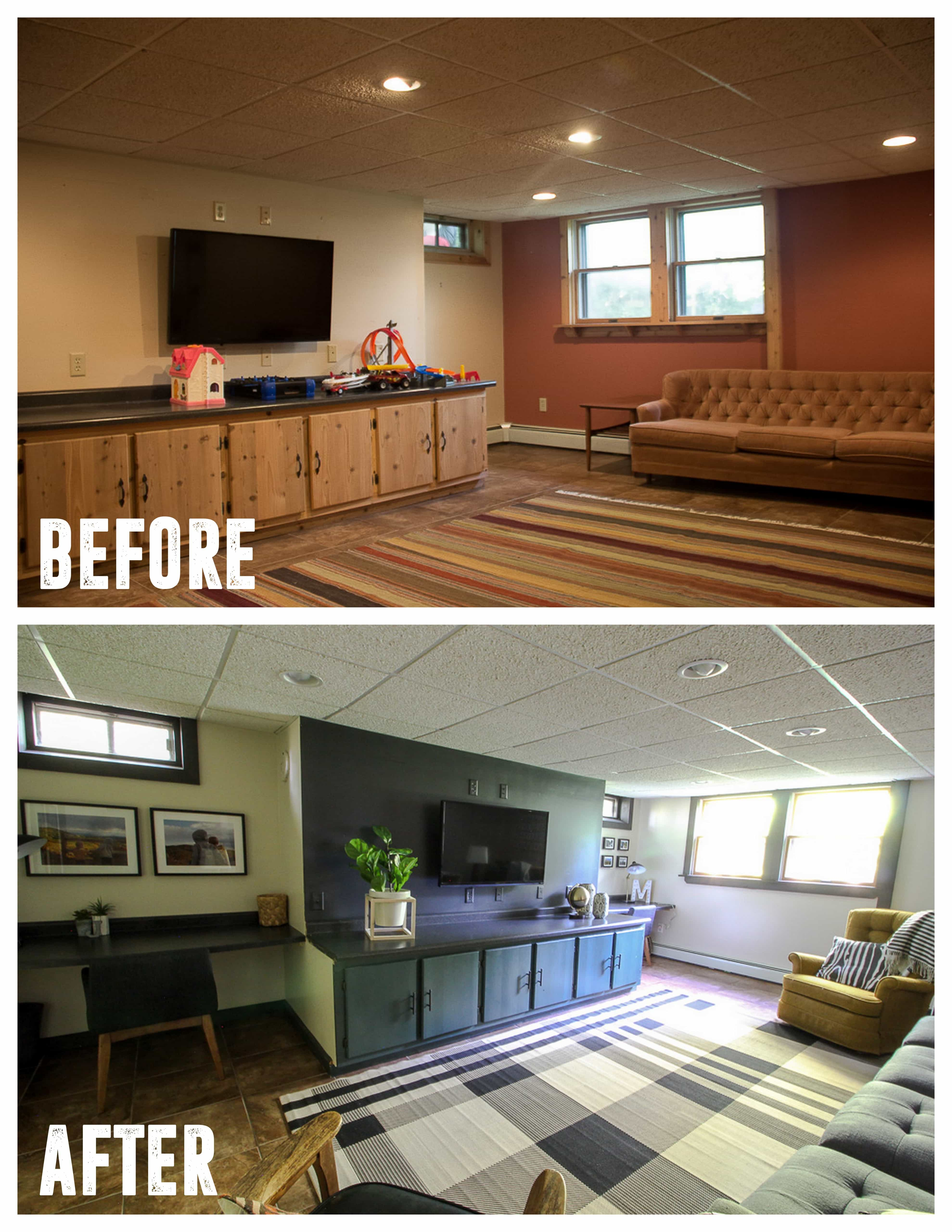 Basement Makeover Ideas