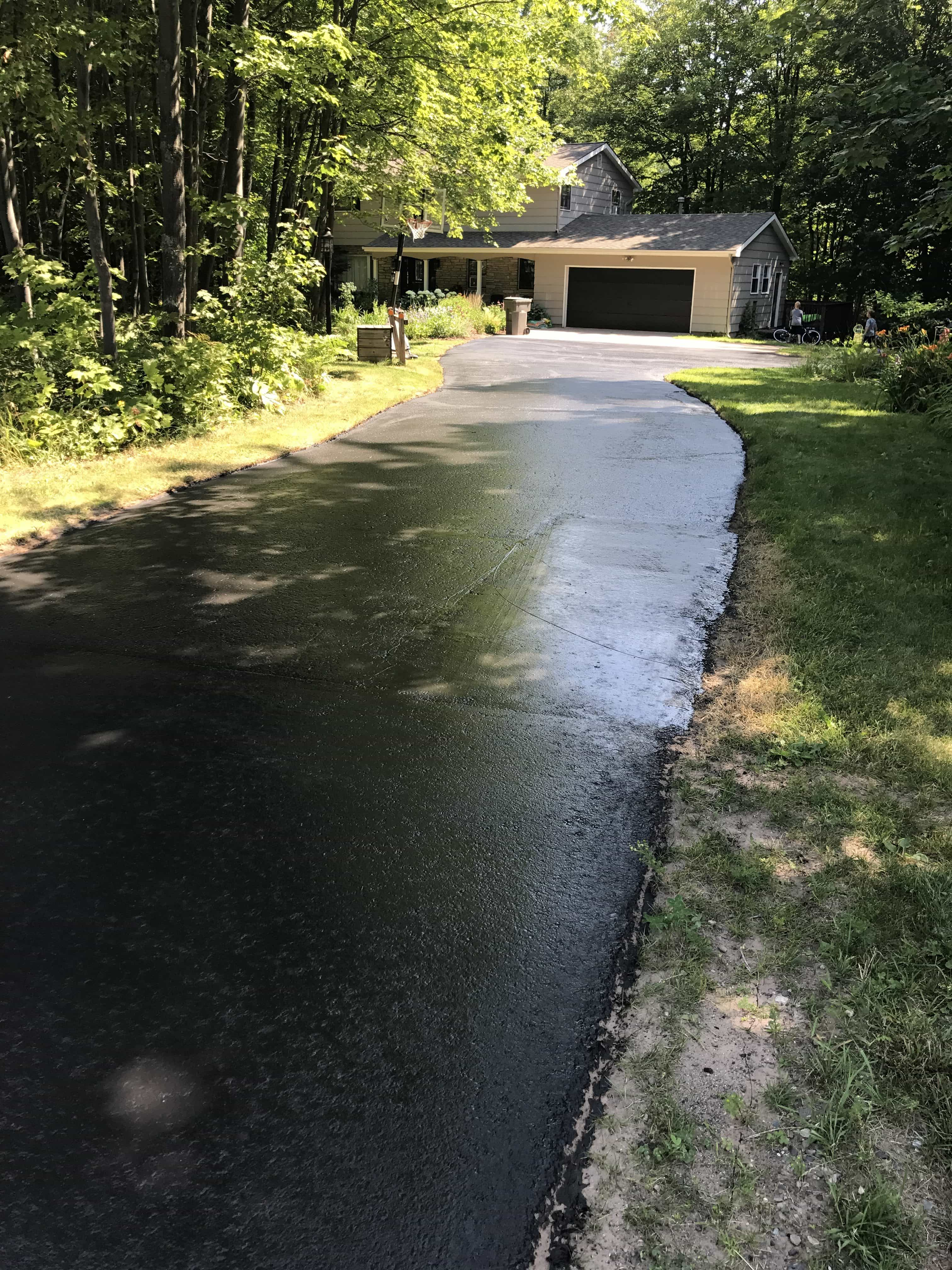 How to save money on driveway