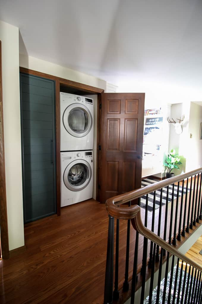 Small Laundry Room In Closet