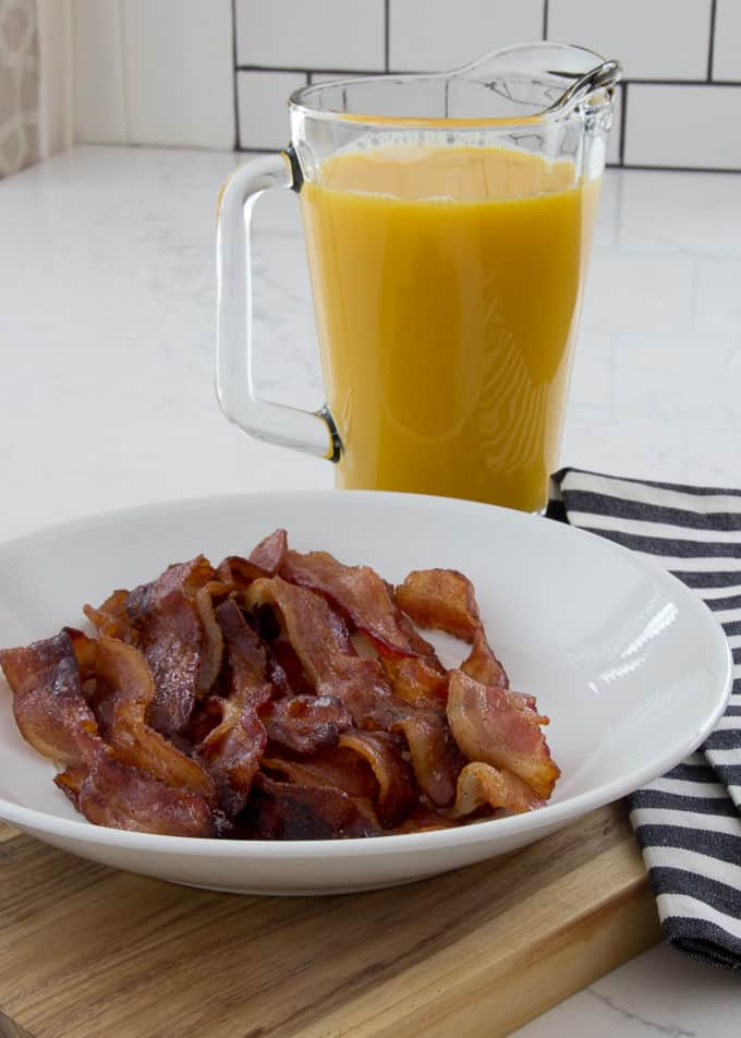 The best sweet and spicy bacon