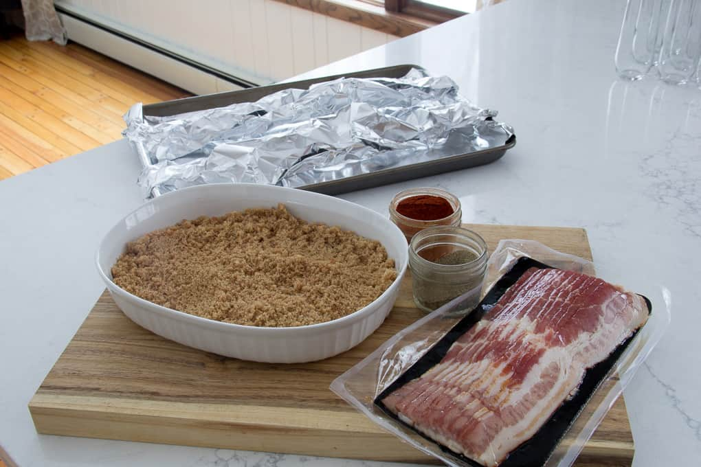 Sweet and Spicy Bacon Millionaire Bacon