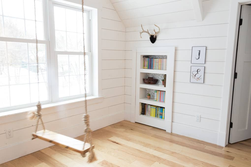 DIY Hidden Bookshelf Doorway