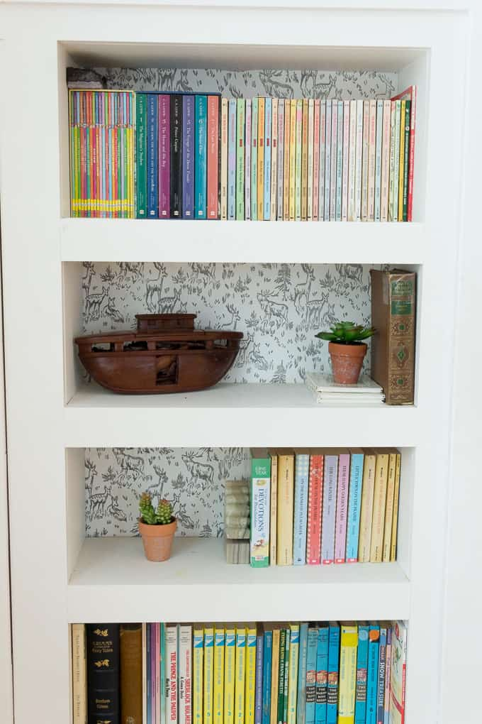DIY Hidden Bookshelf Door