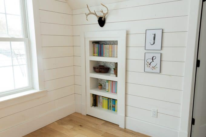 Diy Secret Bookshelf Door