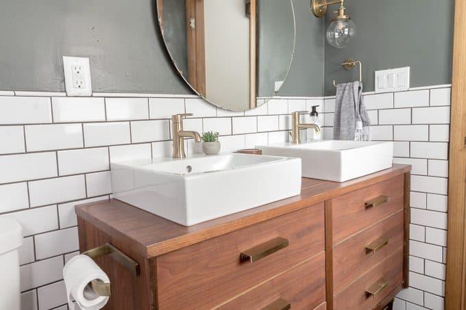 Dresser for Bathroom Sink