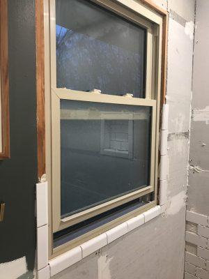 Window in a Shower