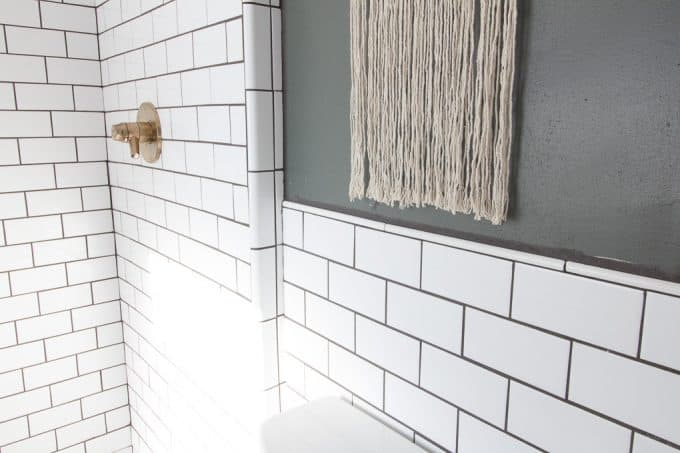 Modern Tile Shower