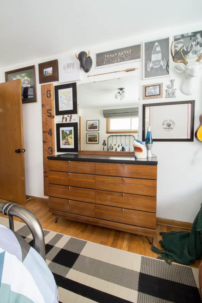 Mid-Century Dresser with Hairpin Legs