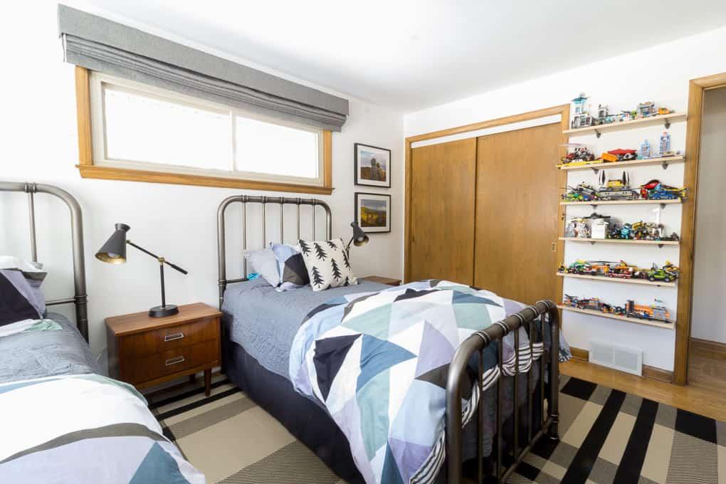 Big Boys Shared Bedroom
