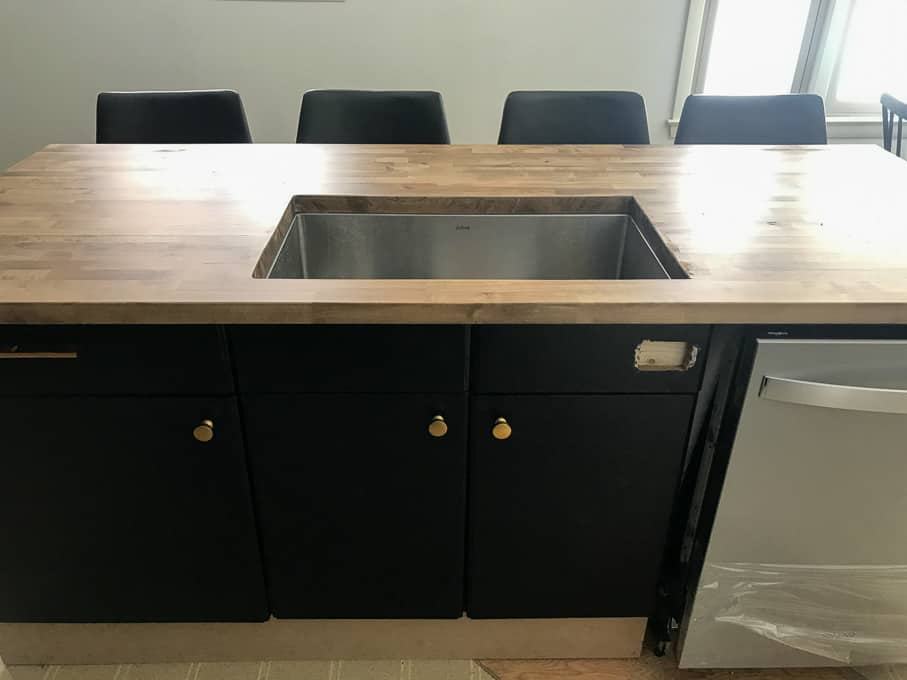 How to Install DIY Butcher Block Countertops with undermount sink Undercounter Sinks Kitchen Butcher Block Countertops on butcher block countertop marble, butcher block countertop bathroom, butcher block countertop laundry,