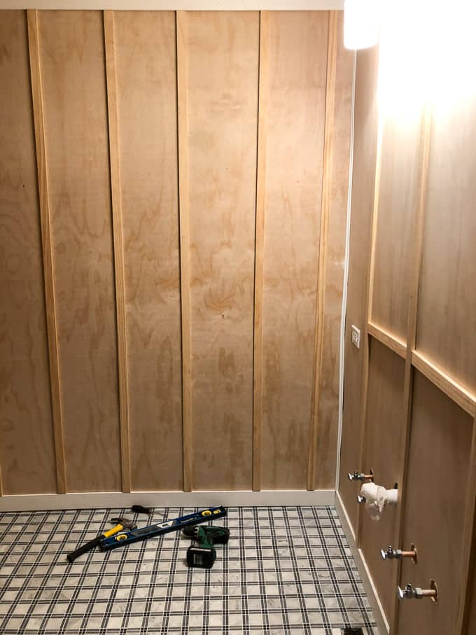 How to Install Board and Batten in a Bathroom