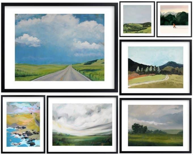 Art I'm Loving: Landscape Paintings