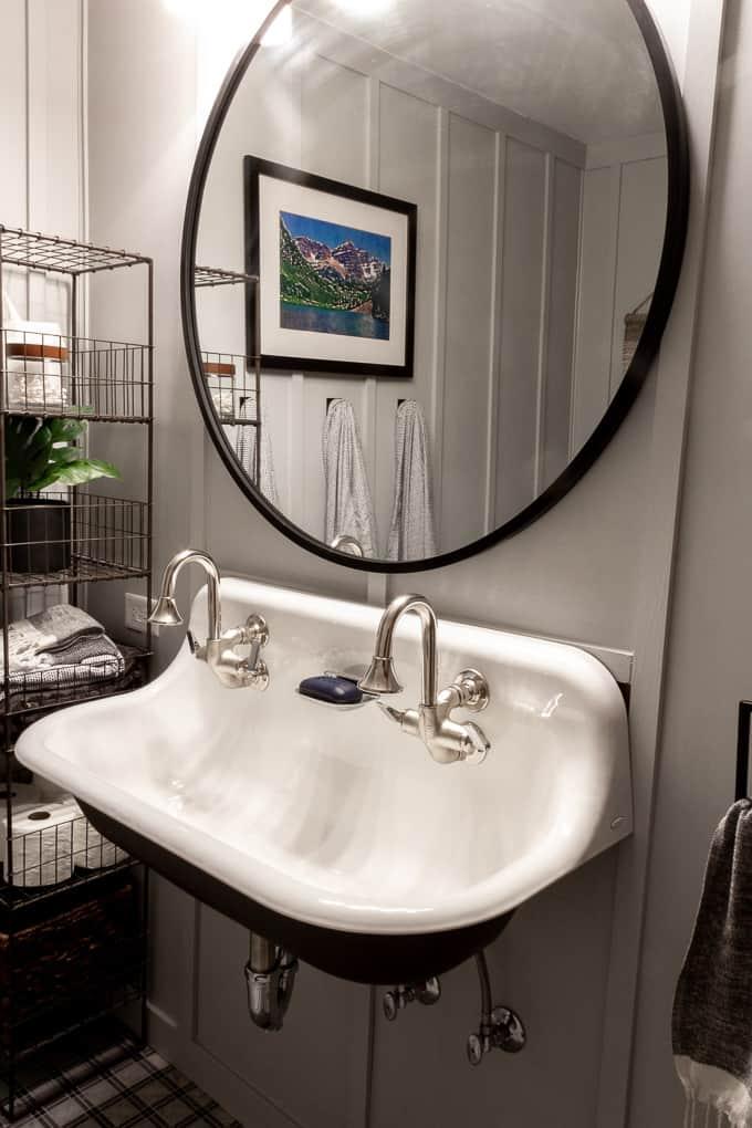 Kohler Brockway Sink with Cannock Faucets